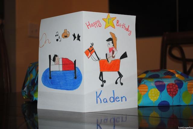 Happy Birthday Kaden!